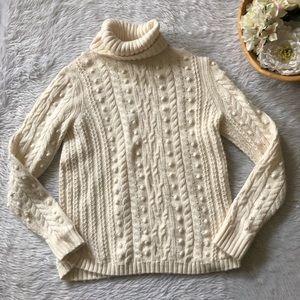 Gap Cream Knit Sweater